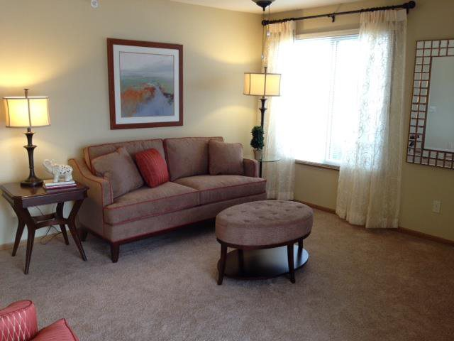 Lush Wall-to-Wall Carpeting at Foresthill Highlands Apartments & Townhomes 55+, Franklin, WI,53132