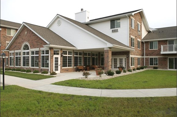 Beautifully Landscaped Grounds With Walking Trails at Parkwood Highlands Apartments & Townhomes 55+, New Berlin, WI,53151