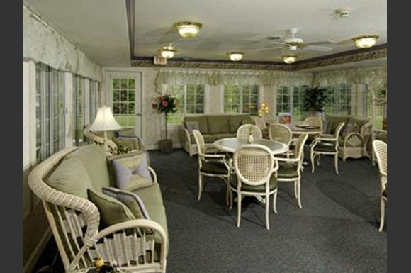 Fully Renovated Community Room at Parkway Highlands Apartments & Townhomes 55+,Green Bay, Wisconsin
