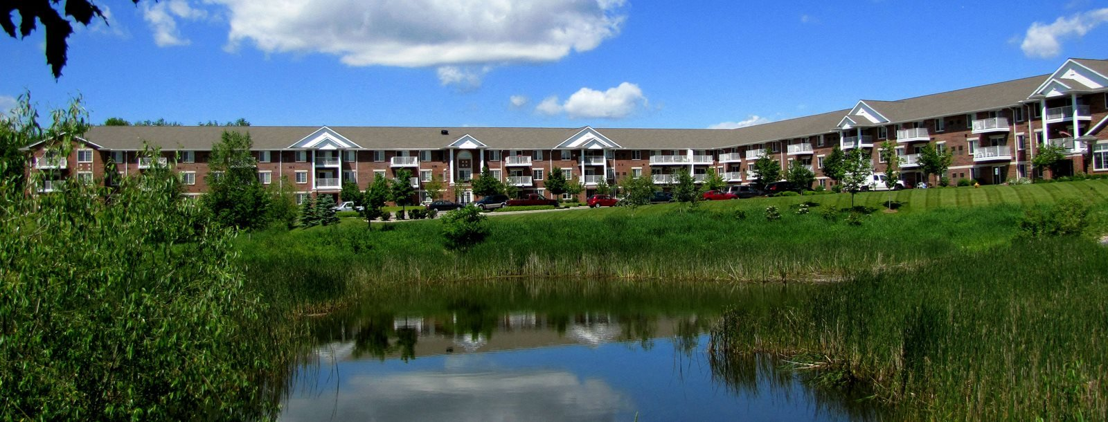 Beautiful Community Beside the Lake at Birchwood Highlands Apartments, 8005 Birch Street, 54476