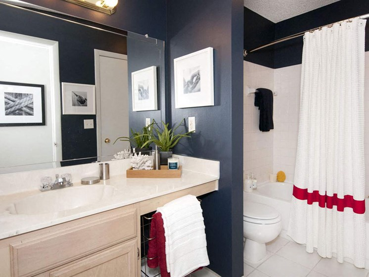 Designer Counter-Top In Wash Room at Lincoln Pointe, Aventura