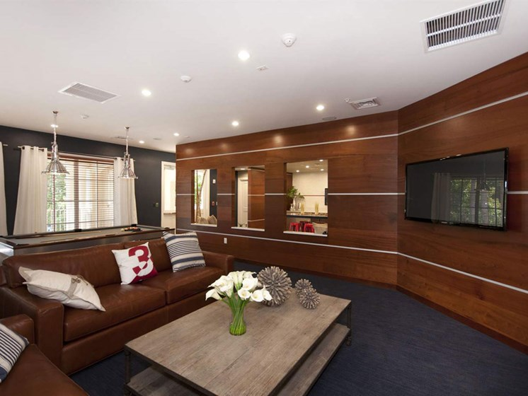 Large Community Room at Lincoln Pointe, Aventura, FL