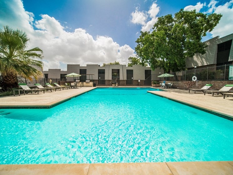 Pool With Sunning Deck at Jewel, Texas