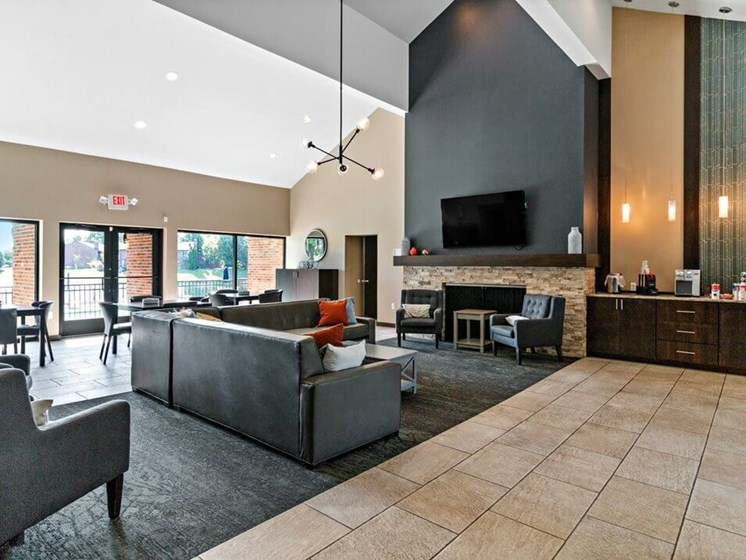 apartment clubhouse in Dearborn, MI