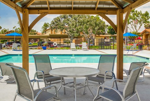 Las Ventanas Apartments Lifestyle - Pool Deck & Pool