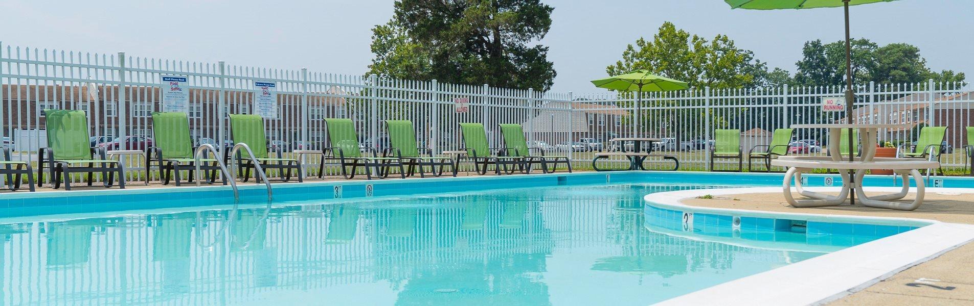 banner-pool  at Warwick Villages Apartments in Newport News VA