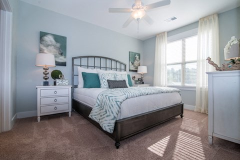 Comfortable Bedroom at Meridian at Fairfield Park, North Carolina, 28412