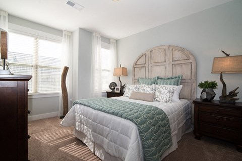 Well Decorated Bedroom at Meridian at Fairfield Park, Wilmington