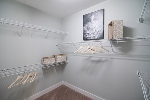 Large Closets at Meridian at Fairfield Park, Wilmington