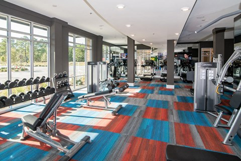 Fitness Center at Meridian at Fairfield Park, Wilmington, NC, 28412