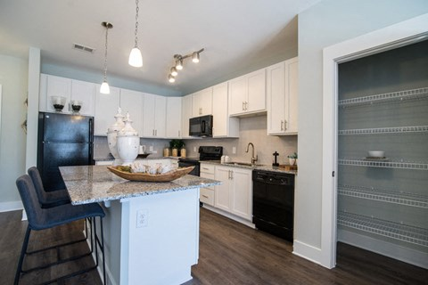 Refrigerator And Kitchen Appliances at Meridian at Fairfield Park, Wilmington, NC