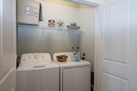 Full-Sized Washer And Dryer at Meridian at Fairfield Park, Wilmington, 28412