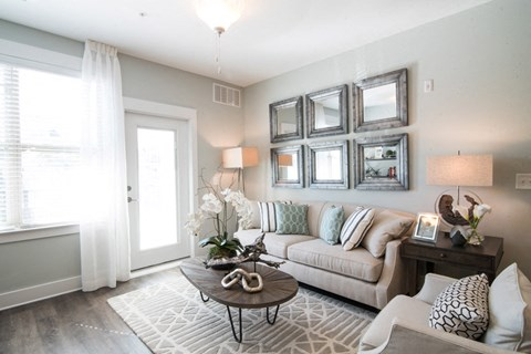 Comfortable Sofas in Living at Meridian at Fairfield Park, Wilmington