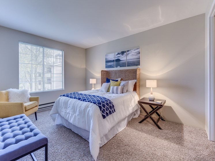 Private Master Bedroom With Oversized Windows