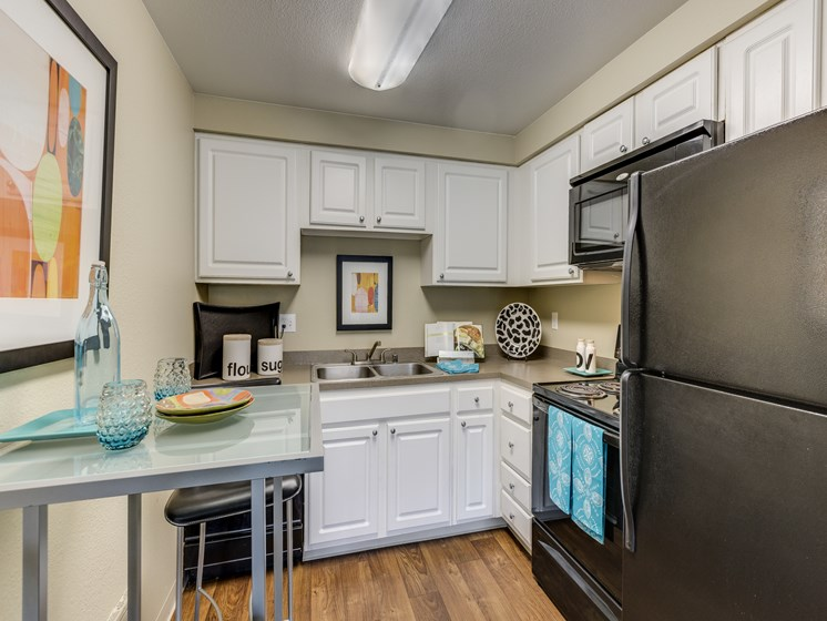 Fully equipped kitchen With Pantry Cabinet