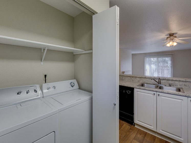 In Home Washer, Dryer
