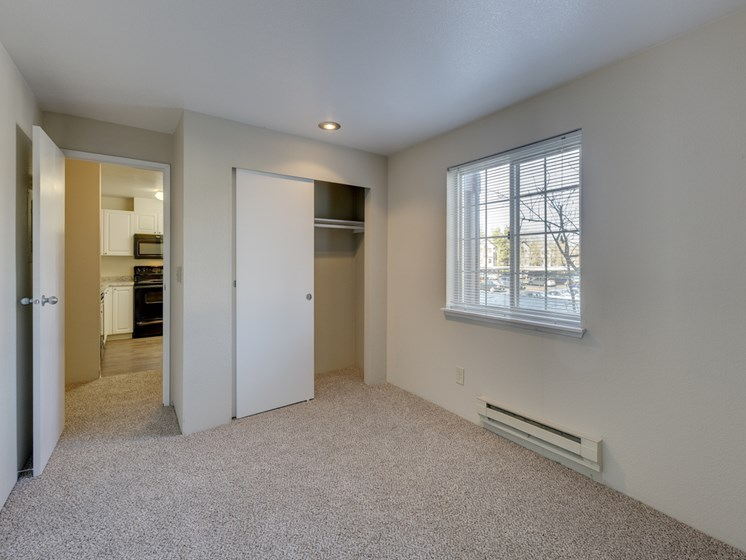 Private Master Bedroom With attached Storage Space