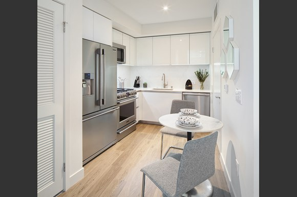 Kitchen-Dining-Area at NMS 1539 Fourth, Santa Monica, California