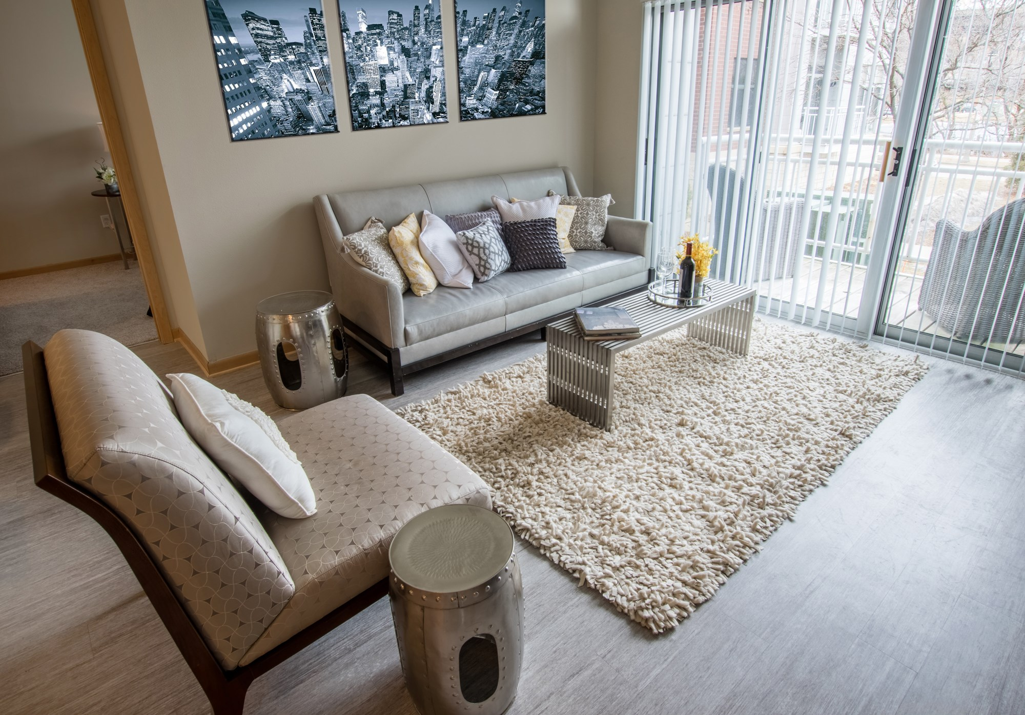 LivingRoom at Trostel Square Apartments in Milwaukee, WI