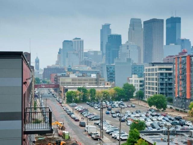 View of Minneapolis MN from The Cameron North Loop