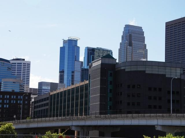 Downtown Minneapolis View from The Cameron