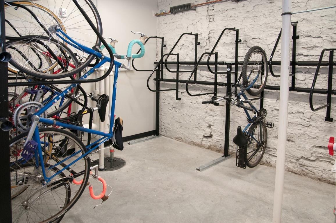 Bike Racks in Garage of The Cameron North Loop