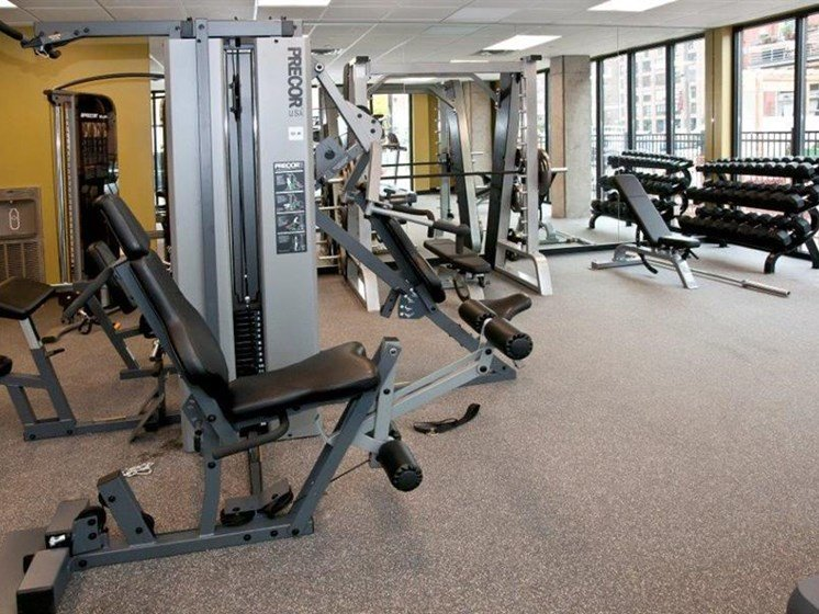 High-Tech Fitness Center at Third North, Minneapolis