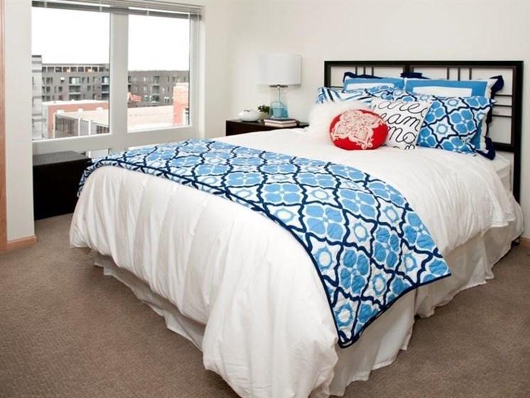 Private Master Bedroom at Third North, Minneapolis, Minnesota