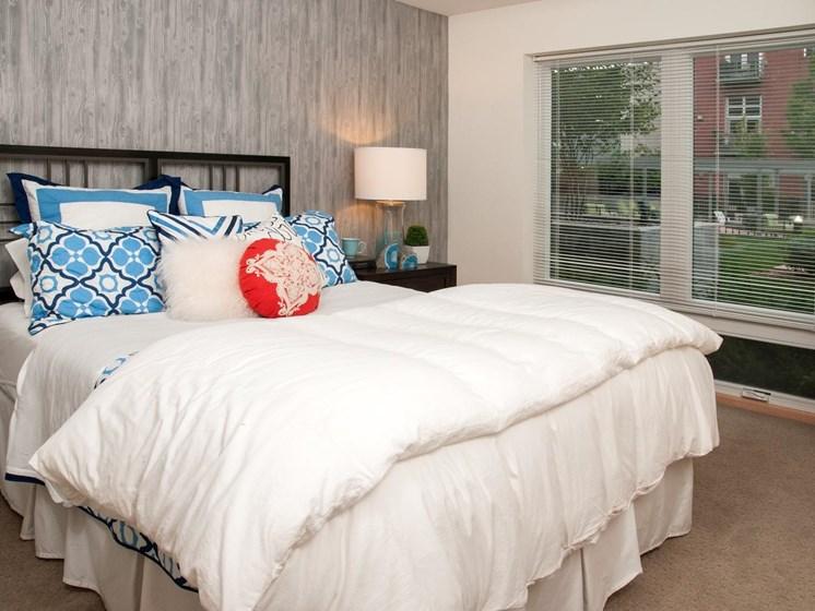 Bedroom with Berber Designer Carpet at Third North, Minneapolis