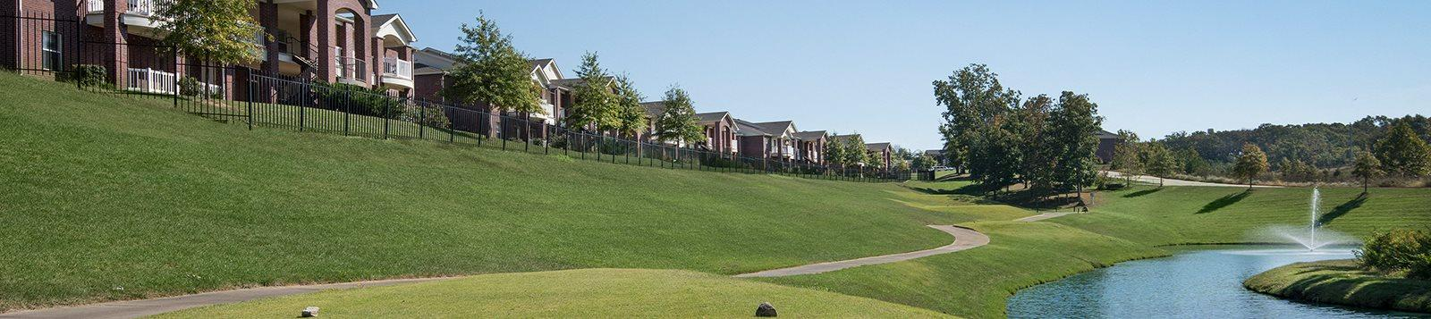 Beautiful Golf Course Views Available at The Links at Columbia, Columbia, Missouri
