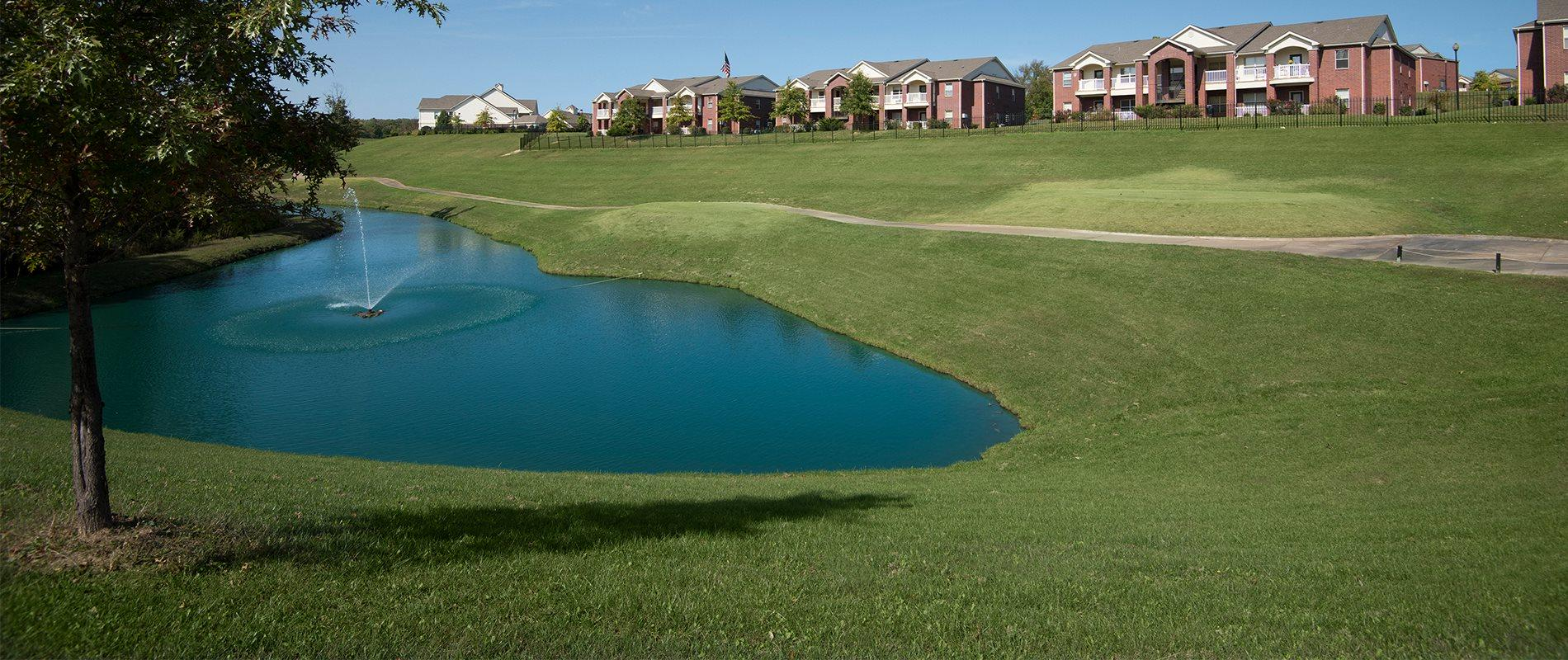 Beautifully Landscaped Grounds at The Links at Columbia, Columbia
