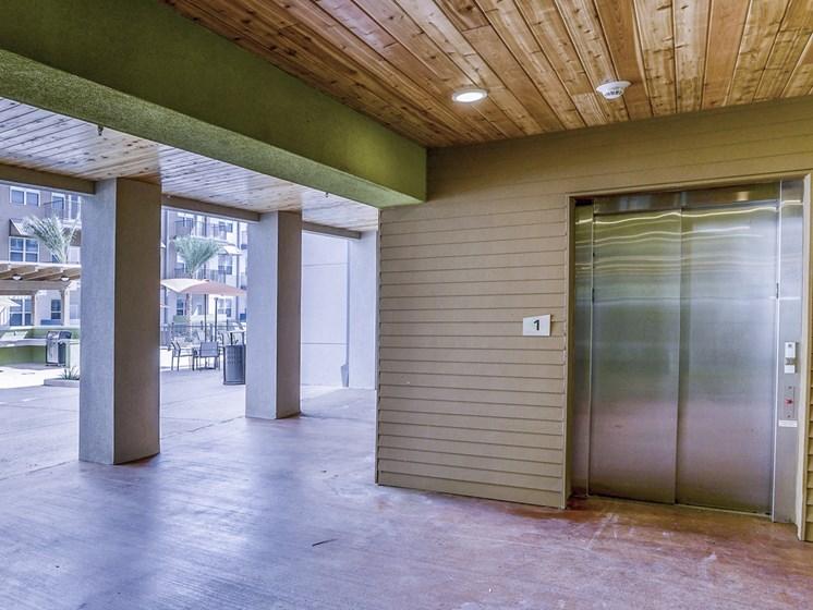 Convenient Elevators in Each Building
