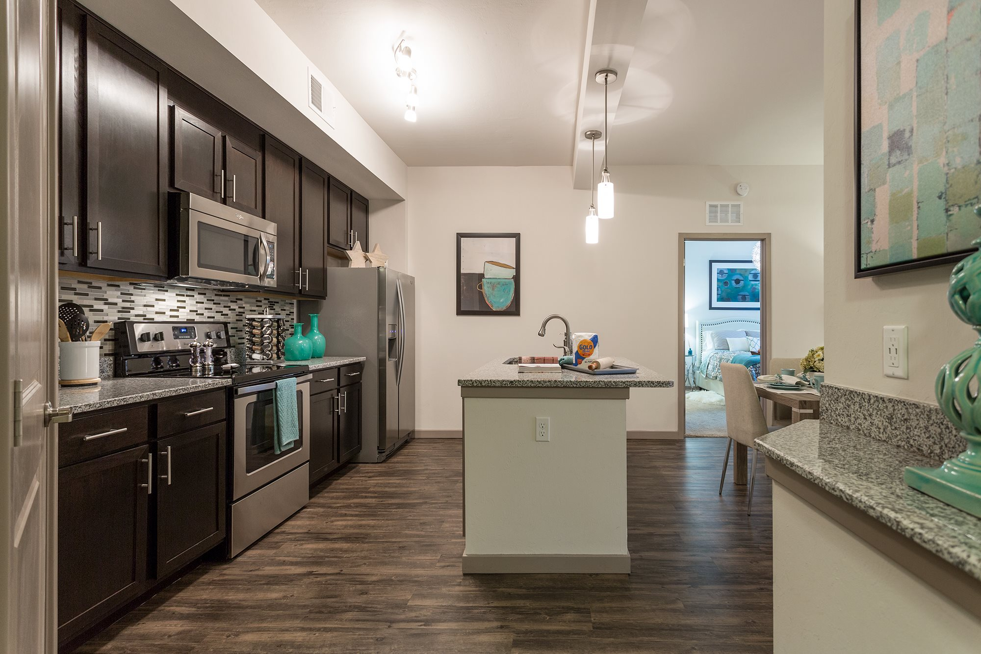 Kitchen at Orchid Run Apartments in Naples, FL