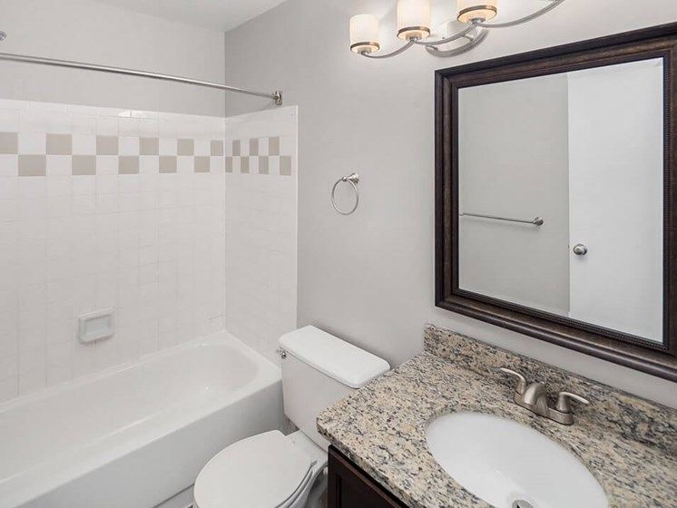 nice bathroom at Madison Heights MI apartments