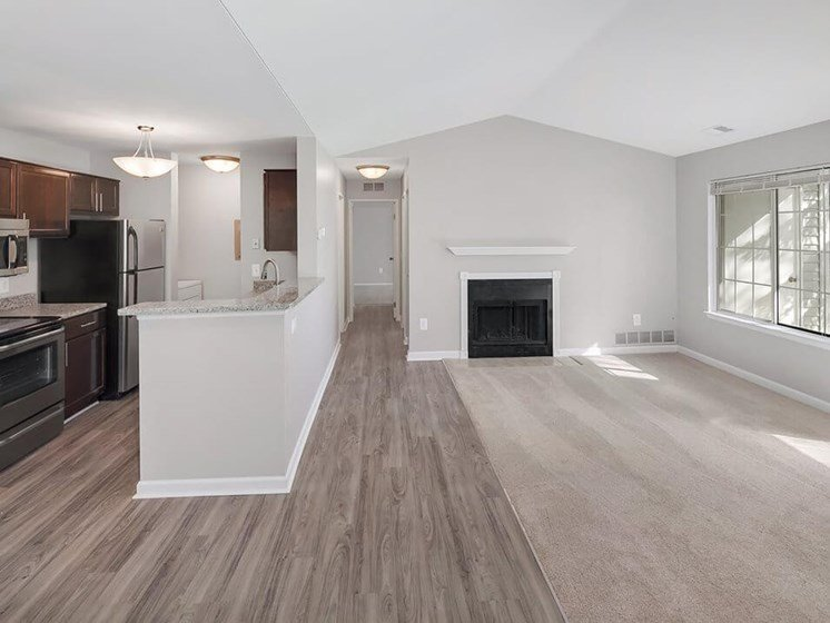fireplaces in Madison Heights MI apartments
