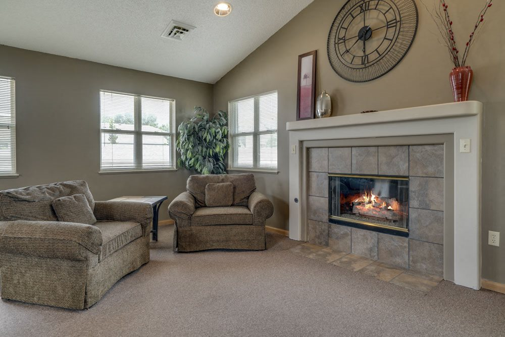 Clubhouse at Skyline View Apartments!