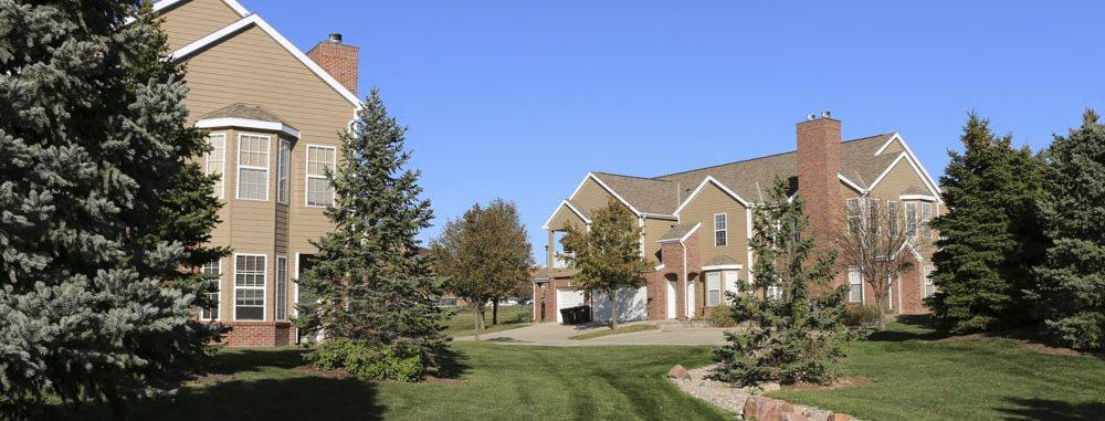 Ridge Pointe Villas townhomes in south Lincoln NE