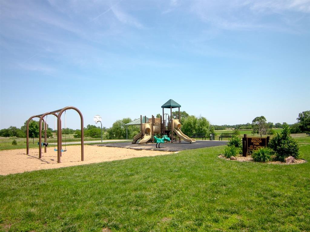 Exteriors-Playground Area at Pinebrook Apartments in Lincoln NE