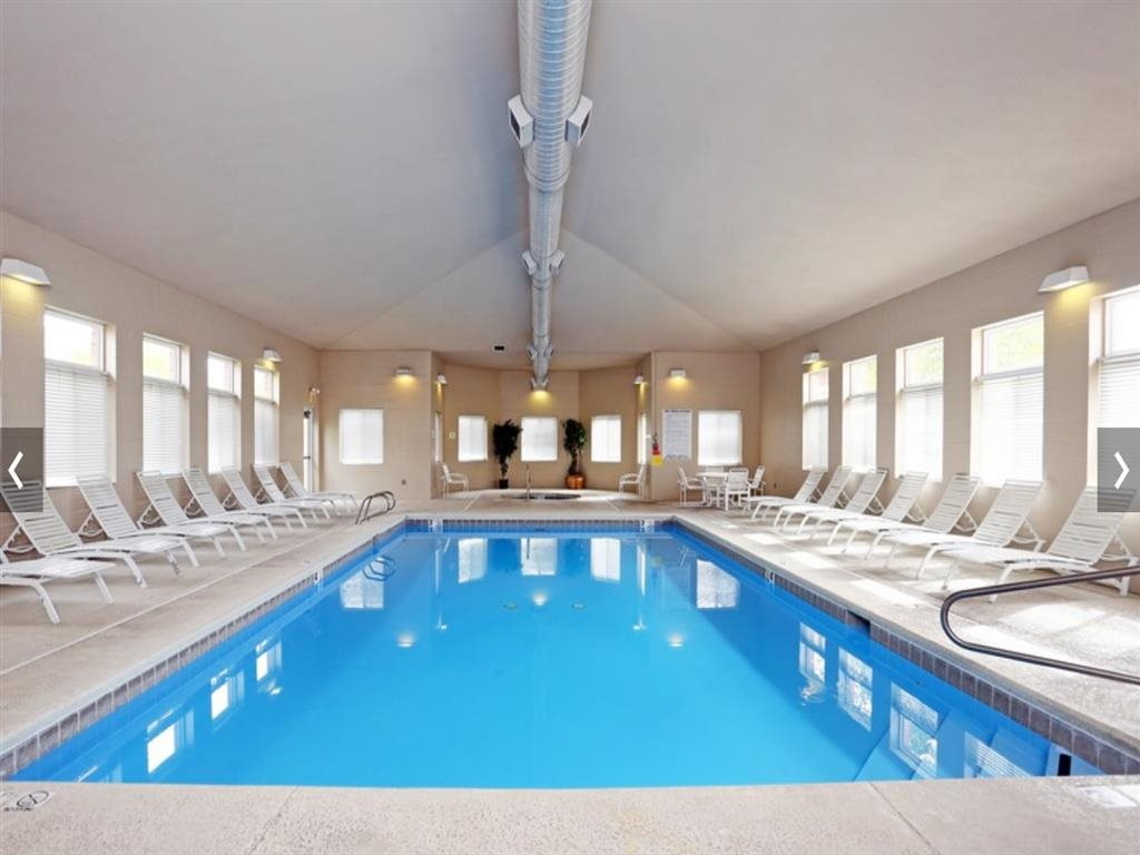 Indoor Saltwater Swimming Pool at Cascade Pines Duplex Homes in Lincoln NE