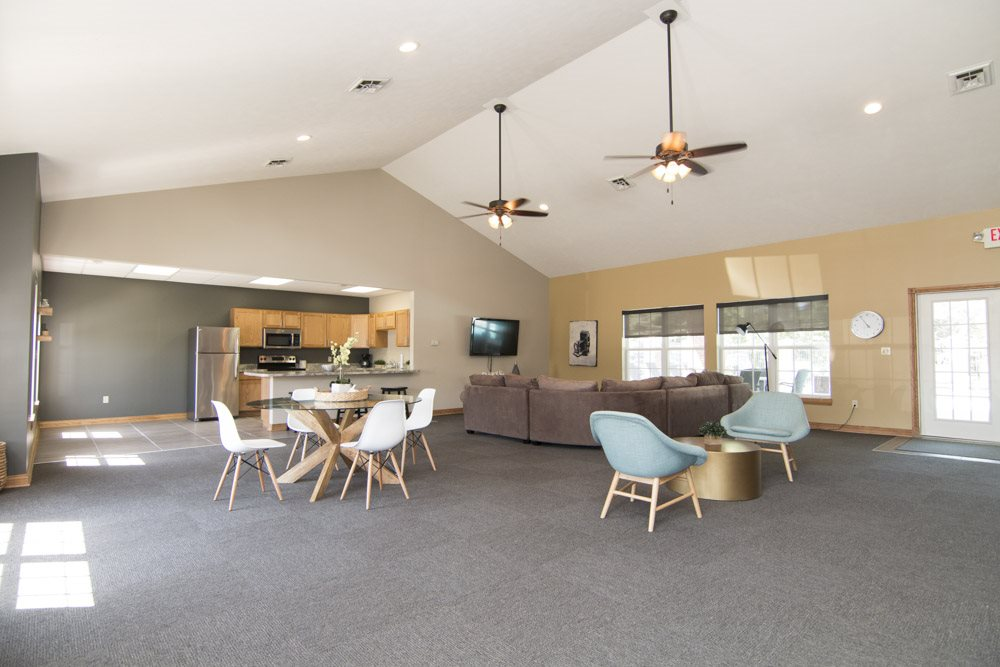 Clubhouse at Williamsburg Park Apartments!