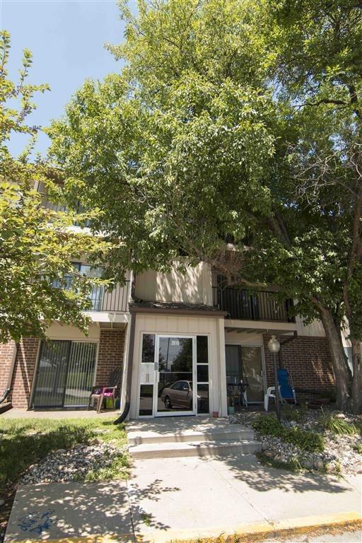 Exterior entrance at Place 72 in Omaha Nebraska