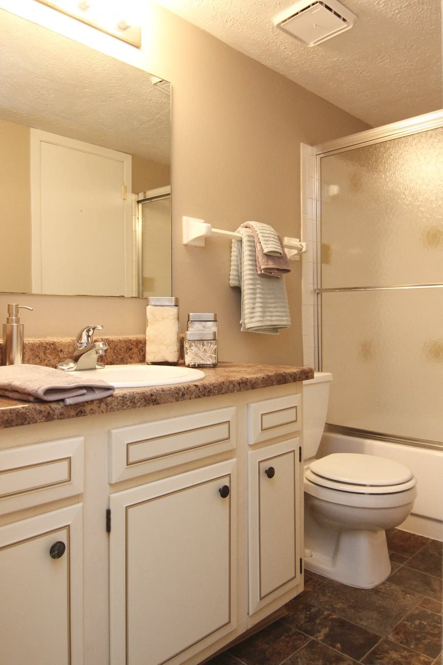 Interiors-Place 72 Apartments bathroom with shower
