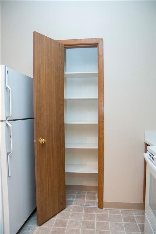 Kitchen pantry at Wyndham Heights Apartments in Ames IA
