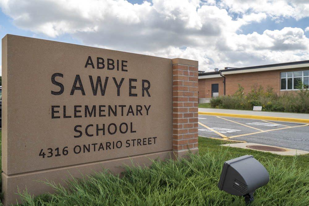 Abbie Sawyer Elementary School near Wyndham Heights Apartments in west Ames, IA, near Iowa State 50014