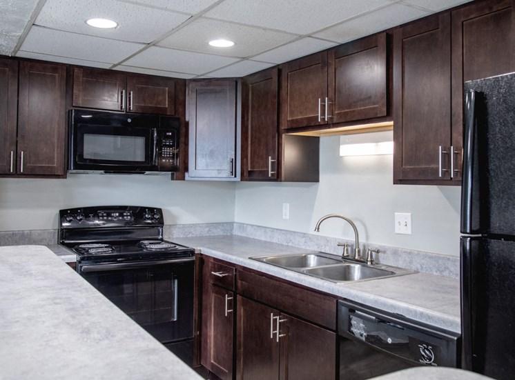 Luxurious Kitchen  at Barrington Estates, IN, 46260