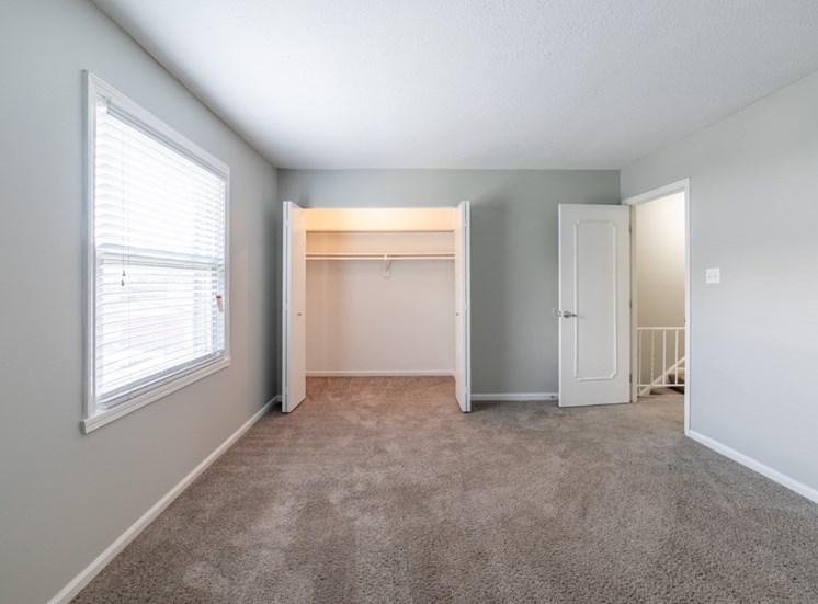 Attached closet at Barrington Estates, IN, 46260