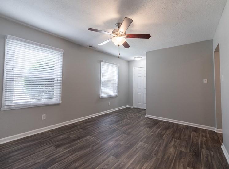 Fan in room at Barrington Estates, IN, 46260