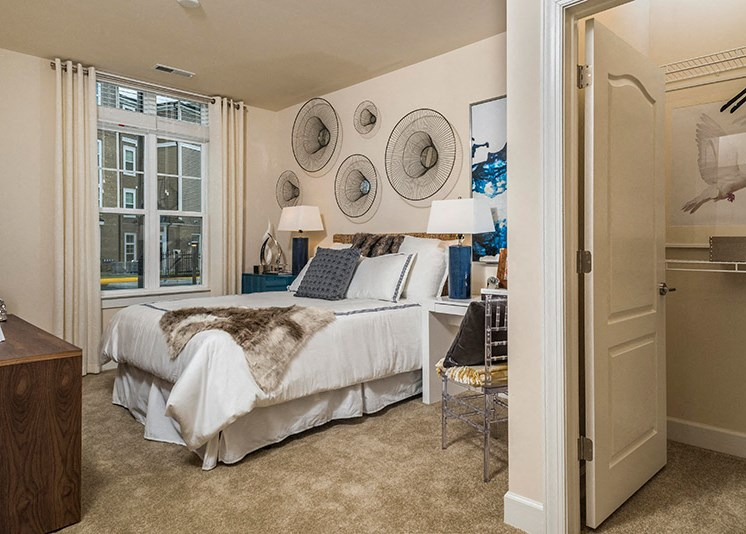 Oversized Closets at Abberly at Southpoint Apartment Homes by HHHunt, Fredericksburg, VA, 22407