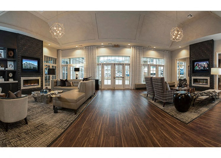 Common Lounge Area at Abberly at Southpoint Apartment Homes by HHHunt, Fredericksburg, VA