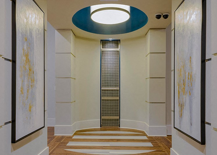 Magnificent Hallway at Abberly at Southpoint Apartment Homes by HHHunt, Fredericksburg, VA, 22407